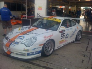 Dorset Sports Cars at the Britcar 24hr at Silverstone