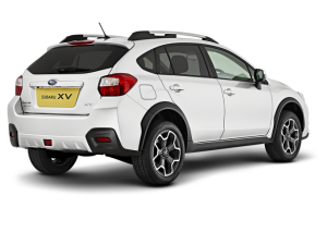 Subaru XV SUV Rear View