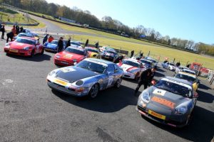 Sylatech Porsche Club Championship with Pirelli-Brands Hatch 30-04-2016 Tim Speed