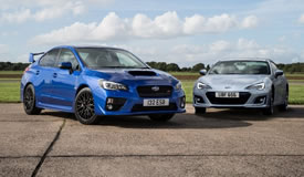 Personal Contract Hire on Subaru BRZ and WRX STi