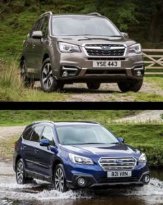 Deposit contributions increased on Subaru Forester and Outback