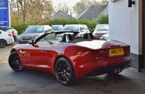 JAGUAR F Type 3.0 V6 'S' Convertible Quickshift