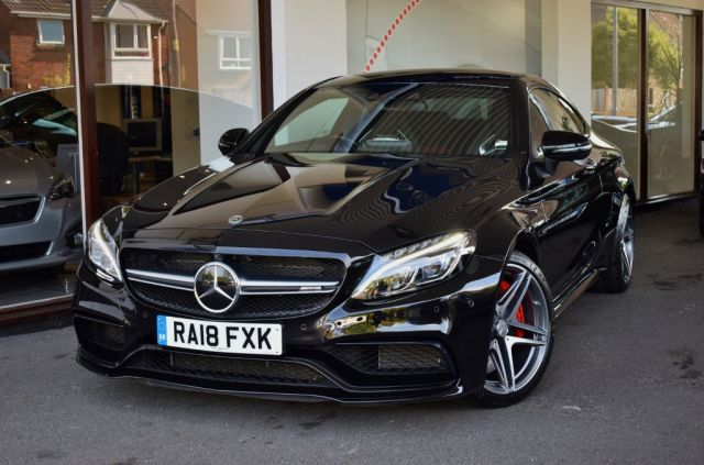MERCEDES C63 'S' AMG PREMIUM PLUS COUPE