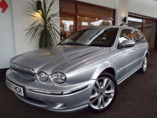 sold | used jaguar x type 2.2 d sovereign estate (u659) | dorset