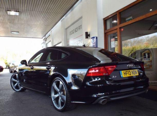 Sold Used Audi A7 Sportback 3 0 Bitdi Quattro Black